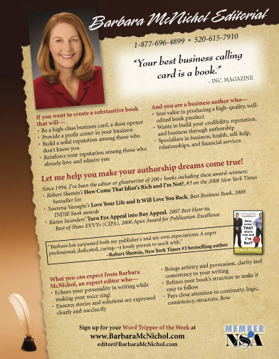 Create an Eye-Catching Flyer Barbara McNichol