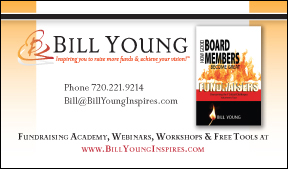 website and book cover brand for Bill Yound