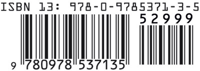book production mistakes -- missing bar code on back cover