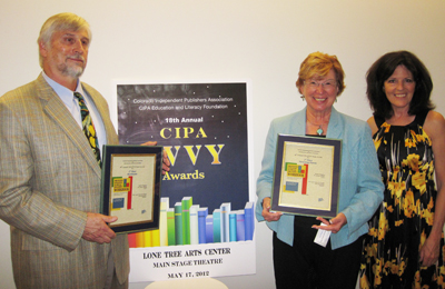 CIPA EVVY book awards: Randy Chapman, Mary Anne Harvey and Kerrie Lian