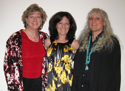 CIPA book awards: Karen Saunders, Kerrie Lian and Helena Mariposa