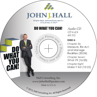 Do What You Can! Branding and Publishing CD label design