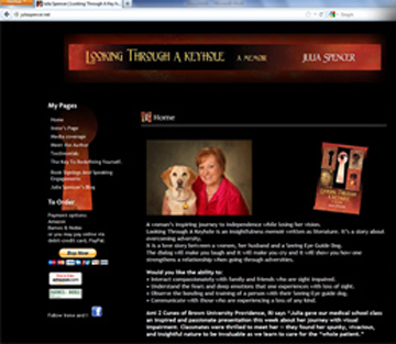 Julie Spencer old website