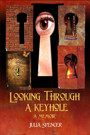 Looking Through a Keyhole book cover design
