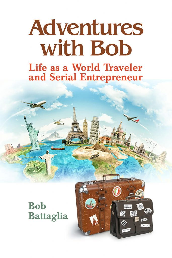 Adventures With Bob Book Cover Design