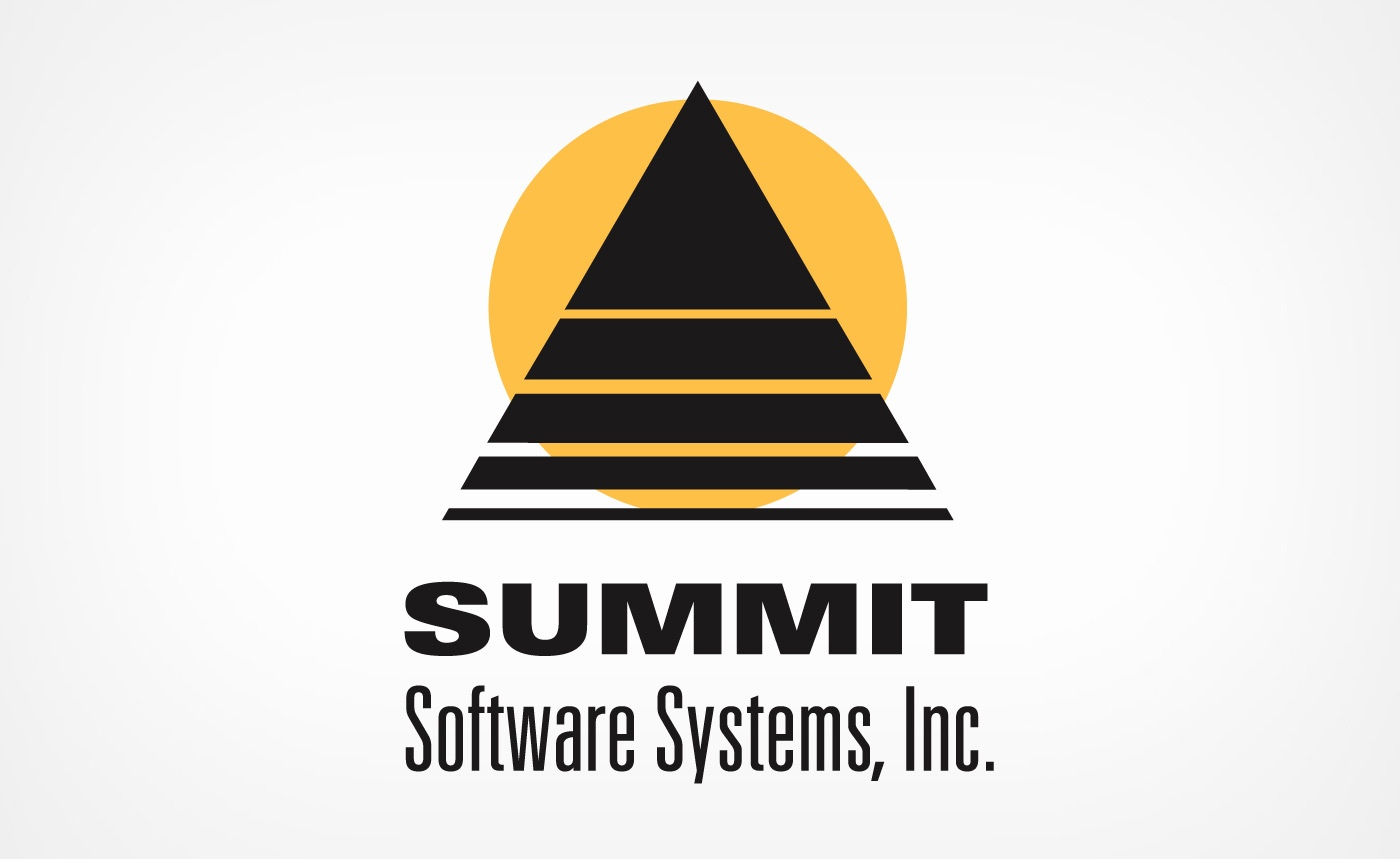 summit soft logo design