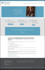 DIVI Theme Website Looks Custom on Michael Mackniak Home Page